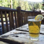 A beer at the Kickapoo Tavern in Keystone, CO