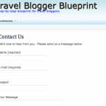 Travel Blogger 101 - Contact 7