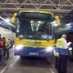 Mega bus to Edinburgh from London