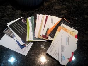 TBU Porto  Business Cards
