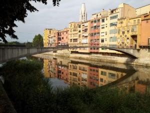 One of Girona's Bridges in Costa Brava
