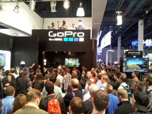 GoPro Crowd at CES 2013 in Las Vegas, NV