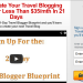 21Day Travel Blogger Blueprint