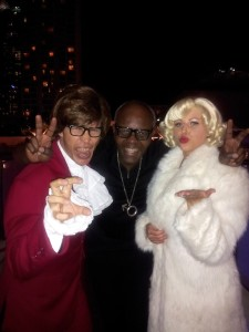 Hanging with Austin Powers and Marilyn Munroe