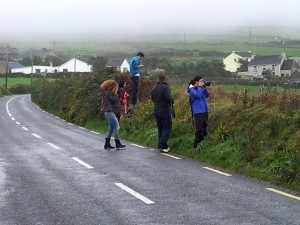 Bloggers Taking Photos in Dingle
