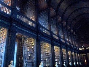 The Old Library Trinity College Dublin Ireland