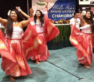 Guam Dancers at The Los Angeles Times Travel Show