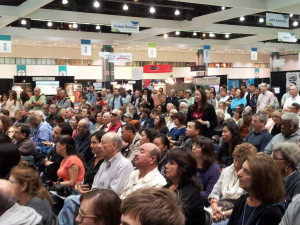 Jen Leo in Audience at The LA Times Travel Show