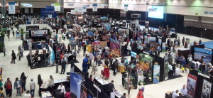 Show Floor of the Los Angeles Times Travel Show