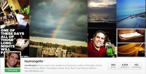 Instagram Lou Mongello