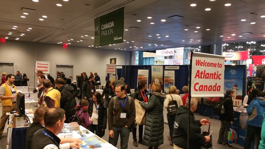 NY Times Travel Show 2015 - Atlantic Canada