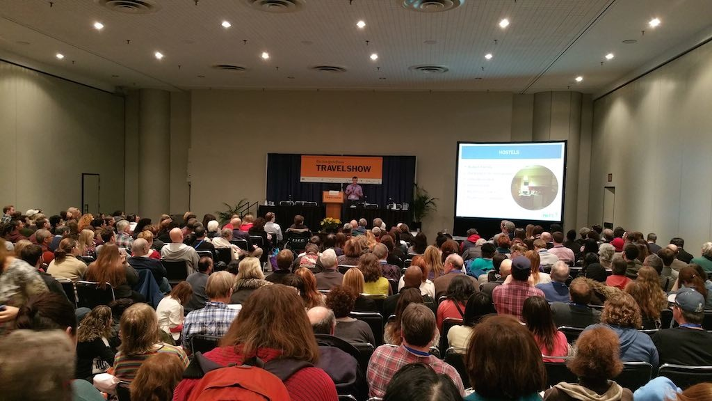 NY Times Travel Show 2015 - Nomadic Matt talks about Budget Travel