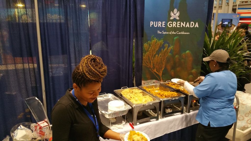 NY Times Travel Show 2015 - Pure Grenada Food