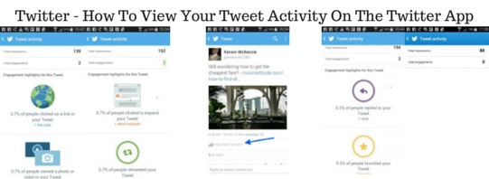 Twitter: How To View Your Tweet Activity On The Twitter App - Travel