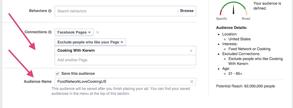 Facebook Ads Save Connections