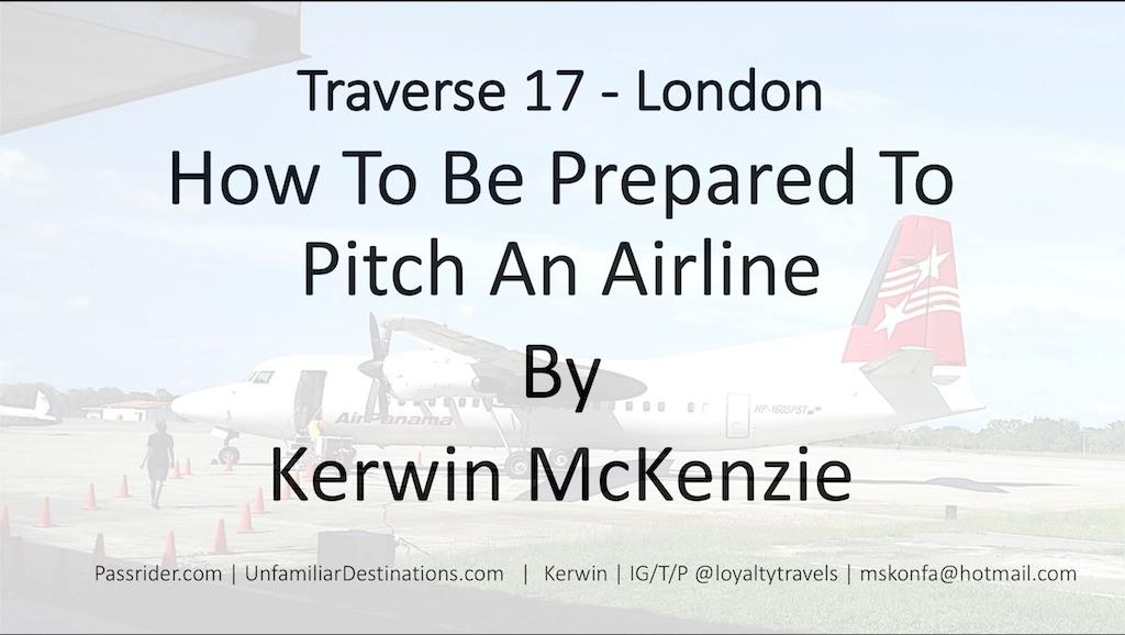 Traverse 17 Presentation